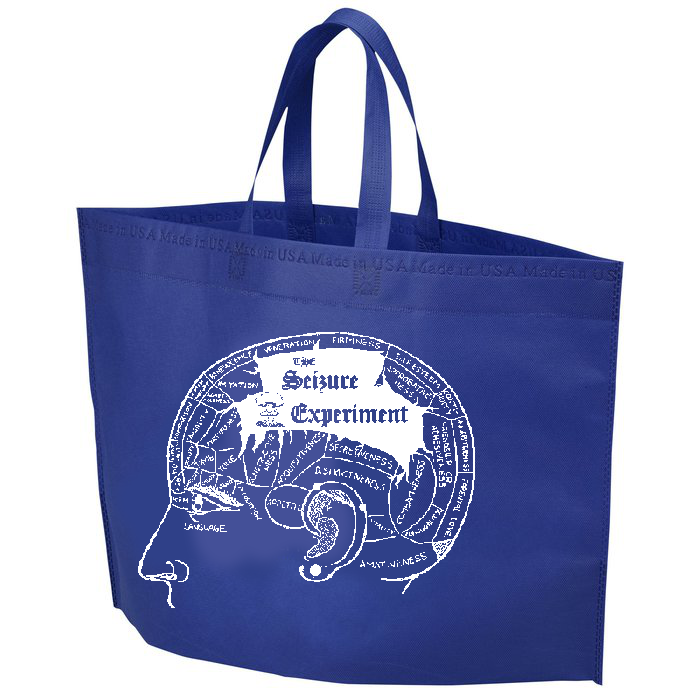 WCBN Phrenology Experiment Tote Bag