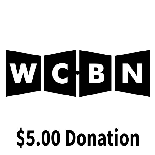 $5.00 WCBN Donation