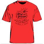 WCBN Beat the Bezoar Red T-Shirt